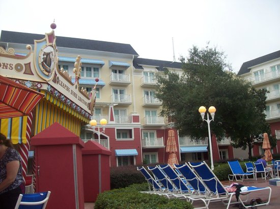 Disney's BoardWalk Inn: Pool area