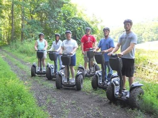 Segway of Western PA: River trail group