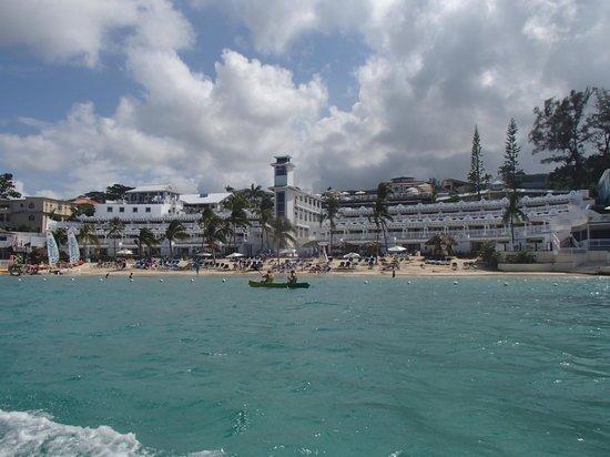 Beaches Ocho Rios Resort & Golf Club:                   View from the ocean