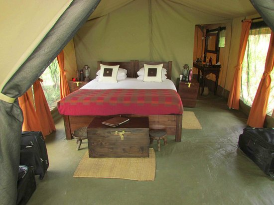 Dunia Camp, Serengeti:                   Now this is what i call camping!