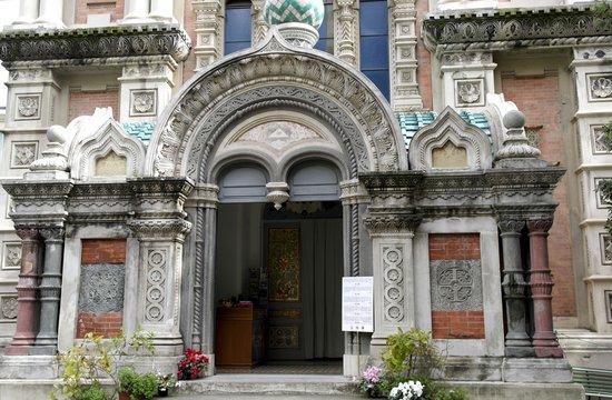 Sanremo, Italien: Вход в храм