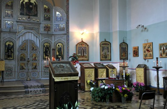Sanremo, Italien: В храме