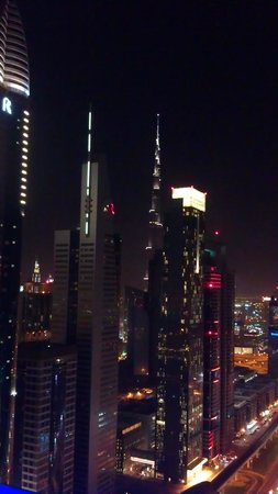 Four Points by Sheraton Sheikh Zayed Road Dubai:                   rooftop view
