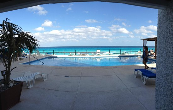 Flamingo Cancun Resort:                   View from room 231