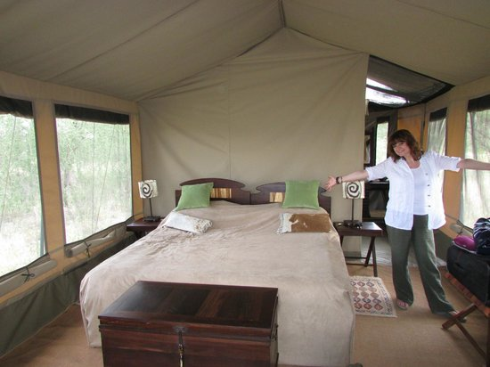 Manyara Ranch Conservancy:                   Beautiful tent!
