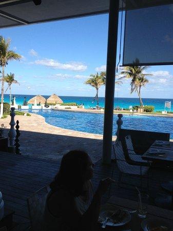 Paradisus Cancun: Vue Buffet matin