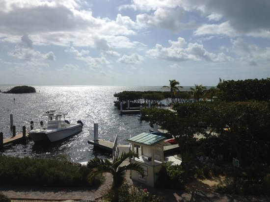 MB at Key Largo: view from the breakfast room