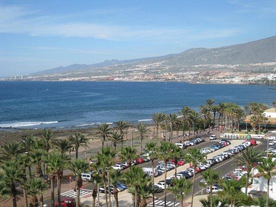 Vista desde la terraza de la habitaci n picture of h10 - The conquistador tenerife ...
