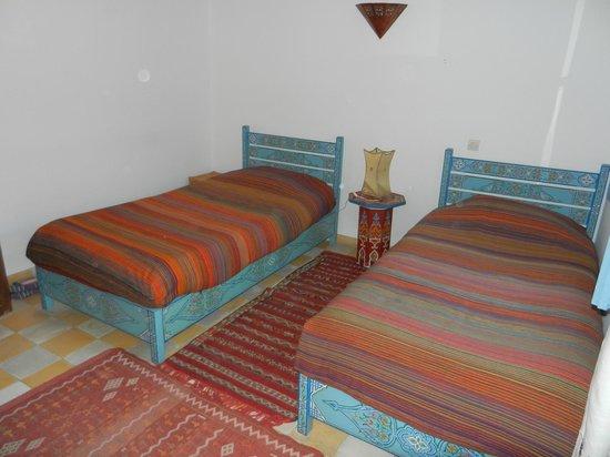 Hotel Les Matins Bleus: Un mobilier très gai