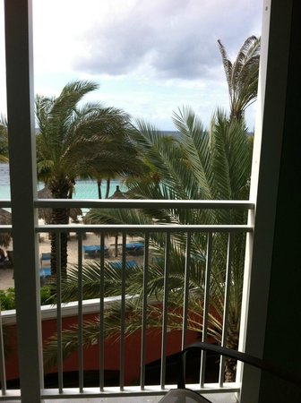 Renaissance Curacao Resort & Casino: View from hotel balcony on 4th floor