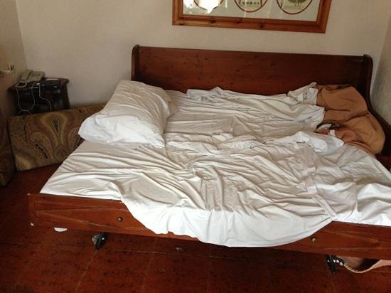 Hotel Planibel - TH Resorts:                   due vecchi materassi vicini in cucina
