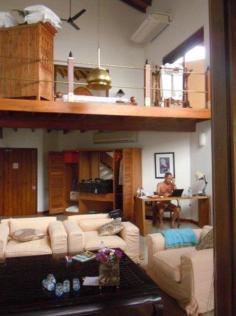Aditya: Unser Zimmer auf 2 Ebenen