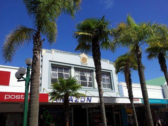 New Zealand Wine Centre: Art Deco exemple