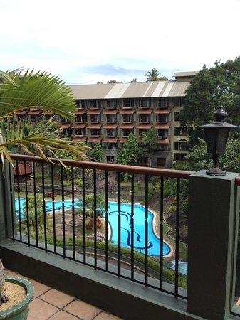 โรงแรมเอิร์ล รีเจนซี่:                   view from room