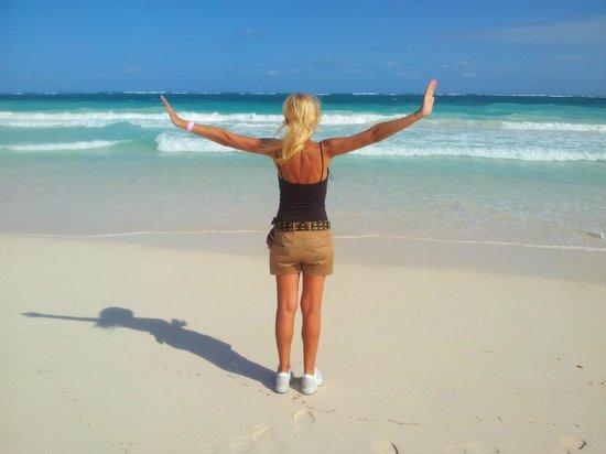 Hotel Las Golondrinas: playa paraiso a tulum presso biosfera