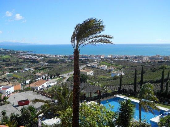 Apartamentos Manilva Green: Sea view from terrace