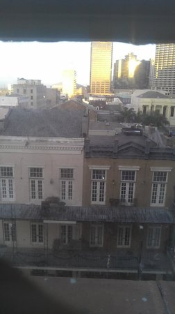 The Lafayette Hotel : View from one of the front rooms