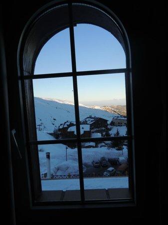 Hotel GHM Monachil: vista do nosso quarto