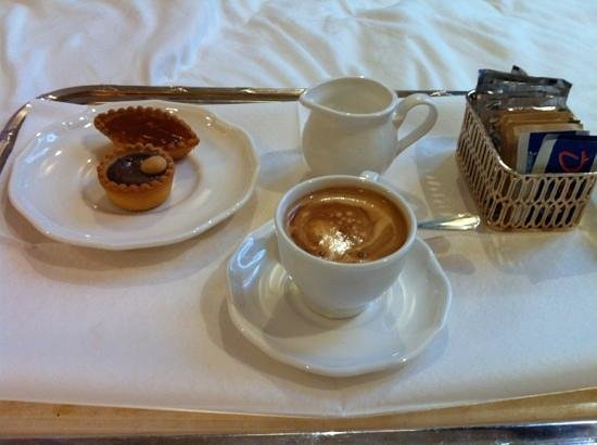 Hotel Moresco:                   I asked for a coffee - what a good ask!