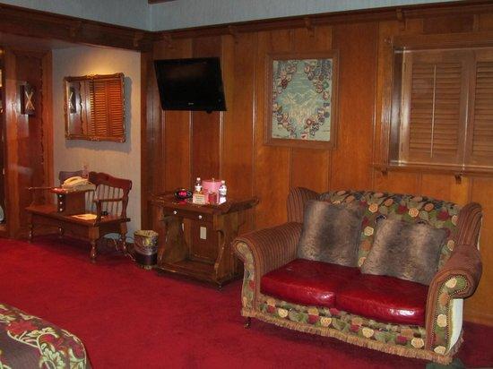 Madonna Inn:                   Swiss Chalet Room