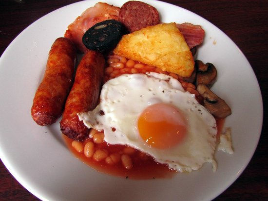 O'Sheas Hotel : irish breakfast
