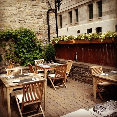 Photo of French Restaurant L'Auberge Saint-Gabriel at 426 Rue St-gabriel, Montreal, QC H2Y 2Z9, Canada