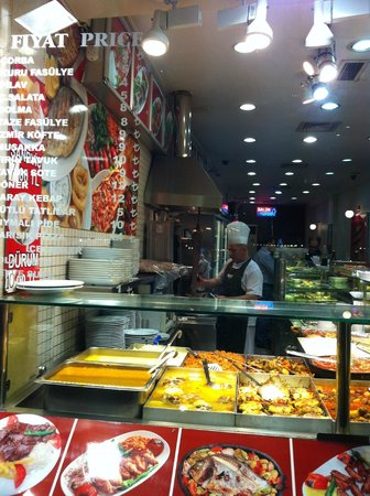 Sultanahmet District: Food food and more food
