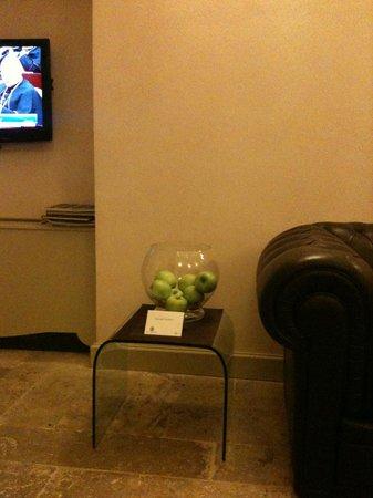Hotel Palazzo dei Mercanti: Mele fresche per gli ospiti dell'hotel