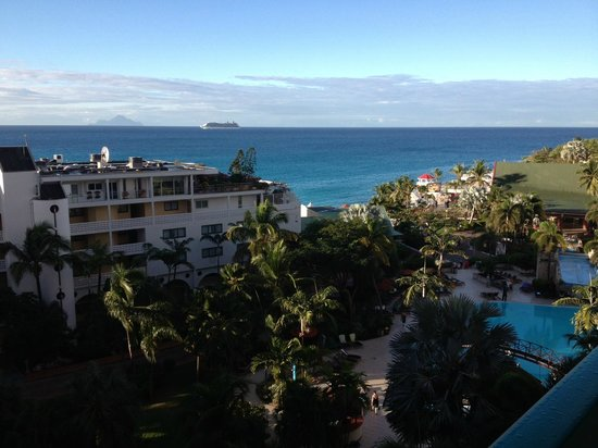 Sonesta Maho Beach Resort & Casino: View from my 6th floor balcony