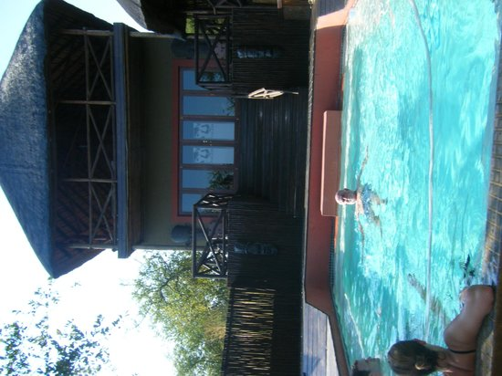 Naledi Bushcamp and Enkoveni Camp: Good to cool off on a hot day
