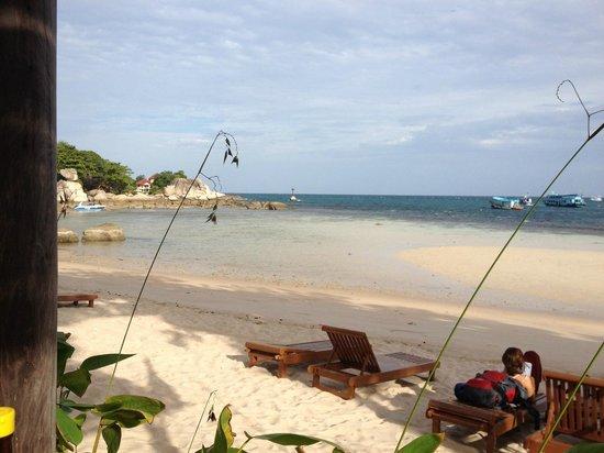 Blue diamond Resort: View from restaurant patio