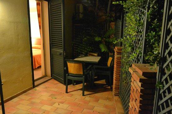 Villa Bianca Resort: Терраса номера сингл