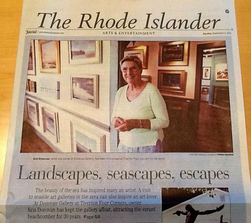 Recent story in the Providence Journal celebrating 30 years