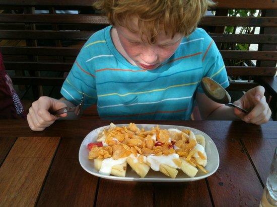 Blue diamond Resort: A breakfast example!