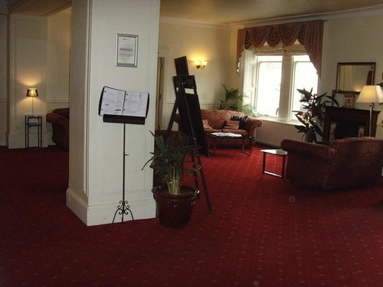 Grant Arms Hotel: The Reception Area