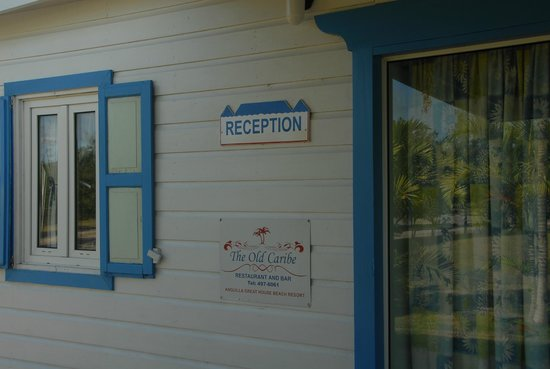 Anguilla Great House Beach Resort: AGH Reception entrance front