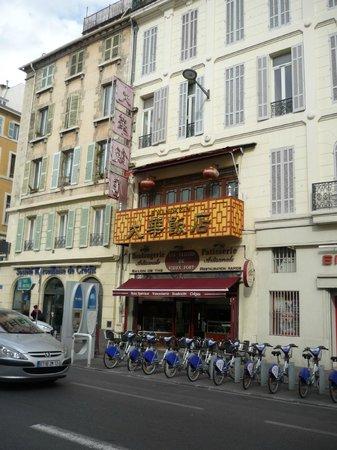 the building of Le Mandarin
