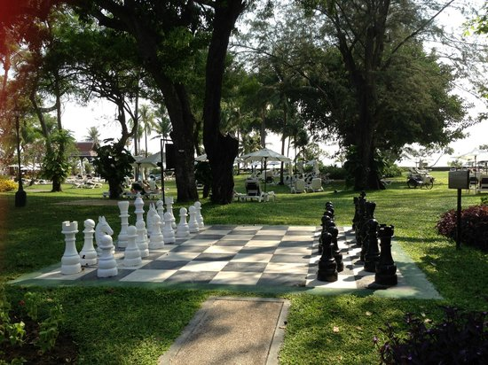 Centara Grand Beach Resort & Villas Hua Hin: chess gaME