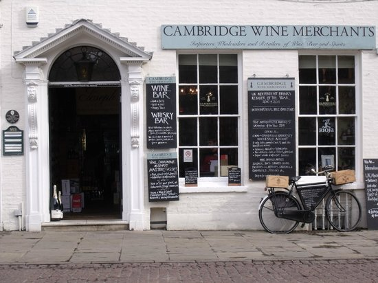 Official Guided Tours of Cambridge: Cambridge Wine Merchants.