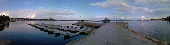Holmen Fjordhotell: Vor dem Hotel ist es sooo schön.