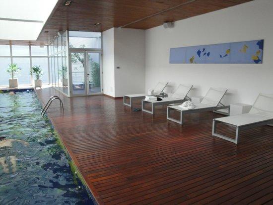 Hotel Boca by Design Suites: Piscina cubierta climatizada
