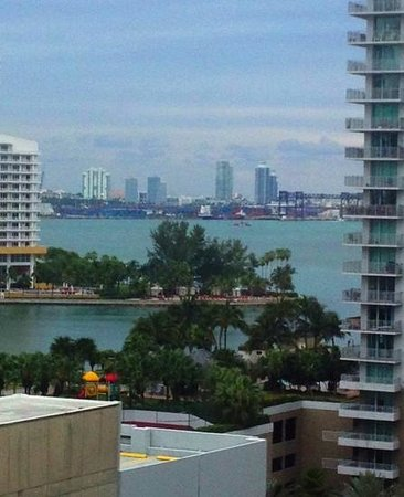 JW Marriott Miami:                   room 1122 view.    quite nice