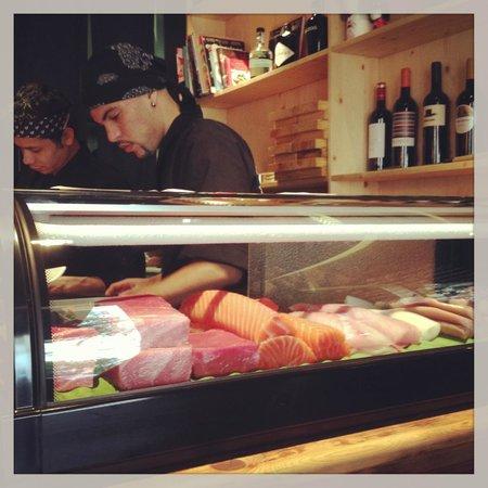Nakashita: top quality fish