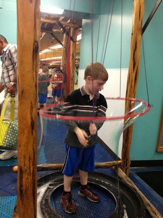 The DoSeum: The Bubble Ranch on the lower level