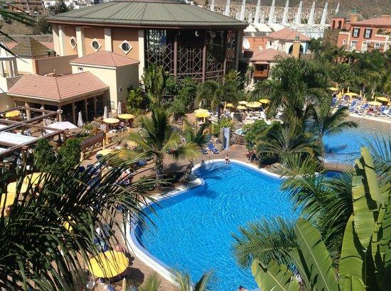 Cordial Mogan Playa: Blick von unserem Balkon