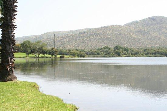 Cabanas, Sun City: Lake looking toward Golf Course