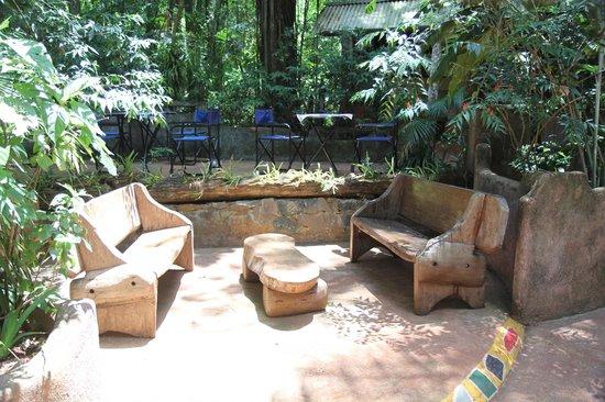 Yacutinga Lodge: Even uitrusten