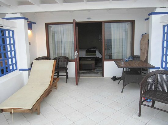 Beaches Ocho Rios Resort & Golf Club: our balcony