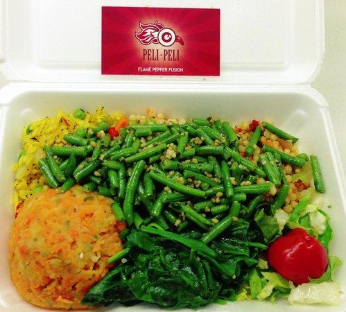 Peli Peli : Vegetarian platter (veganized)