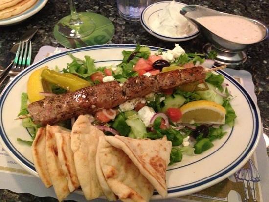 Lefteris Gyro: tuna kebab